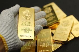 United States Treasury 1 Kilo Kg Gold Collector Bar - The Article photo