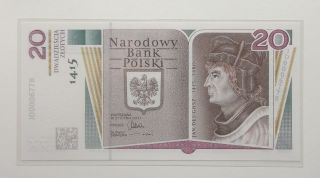 Poland - 20 Zlotych - 2015 - Commemorative - Unc photo