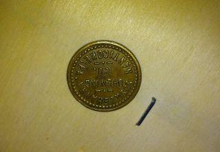 Susquehanna Brewing Co Coin photo
