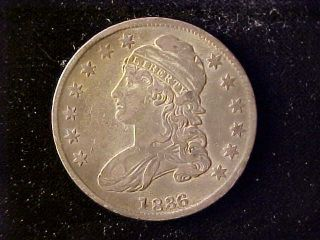 Bust 50 Cents 1836 Scratches photo
