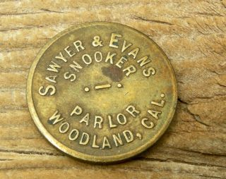 Ca 1900 Woodland California Yolo Co