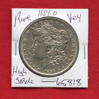 1889 O Morgan Silver Dollar 65818 Coin Us Rare Key Date Estate photo
