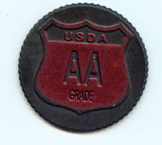 Merchant Chip/token J&k K Hitters Usa - - Usda Aa Grade (3g786) photo