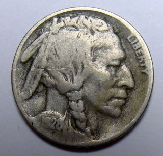 1928 S Buffalo Nickel,  Collector Coin, photo