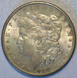 1891 $1 Us Morgan Silver Dollar Coin You Grade (4227) photo