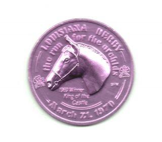 Orleans Fair Ground Token 1970 Louisiana Derby Horse Racing Coin photo