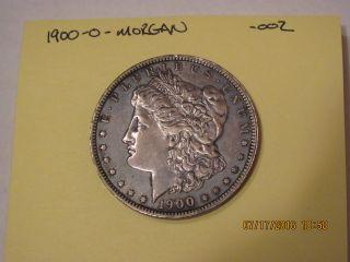 1900 O Morgan Silver Dollar Orleans 90 Silver photo
