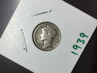 1939 Mercury Dime photo