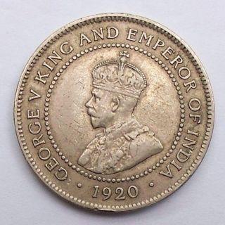 Jamaica One Penny 1920 photo