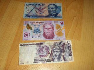 Paper Money: World - North & Central America - Mexico