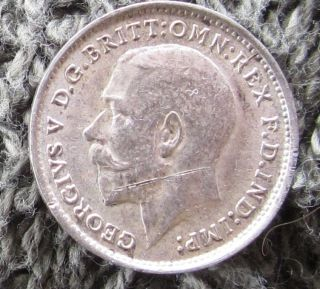 1911 English 3 Pence photo