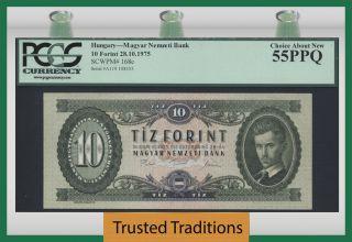Tt Pk 168e 1975 Hungary 10 Forint
