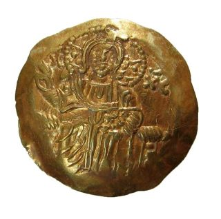 Empire Of Nicaea_john Iii Ducas Vatazes 1222 - 1254 Gold 4.  35g/27mm Magnesia R - 849 photo