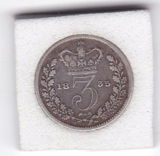 1835 King William Iv Three Pence (3d) Silver (92.  5) Coin photo