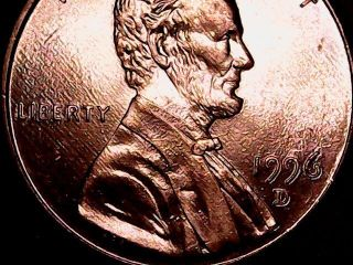 1996 - D Lincoln One Cent
