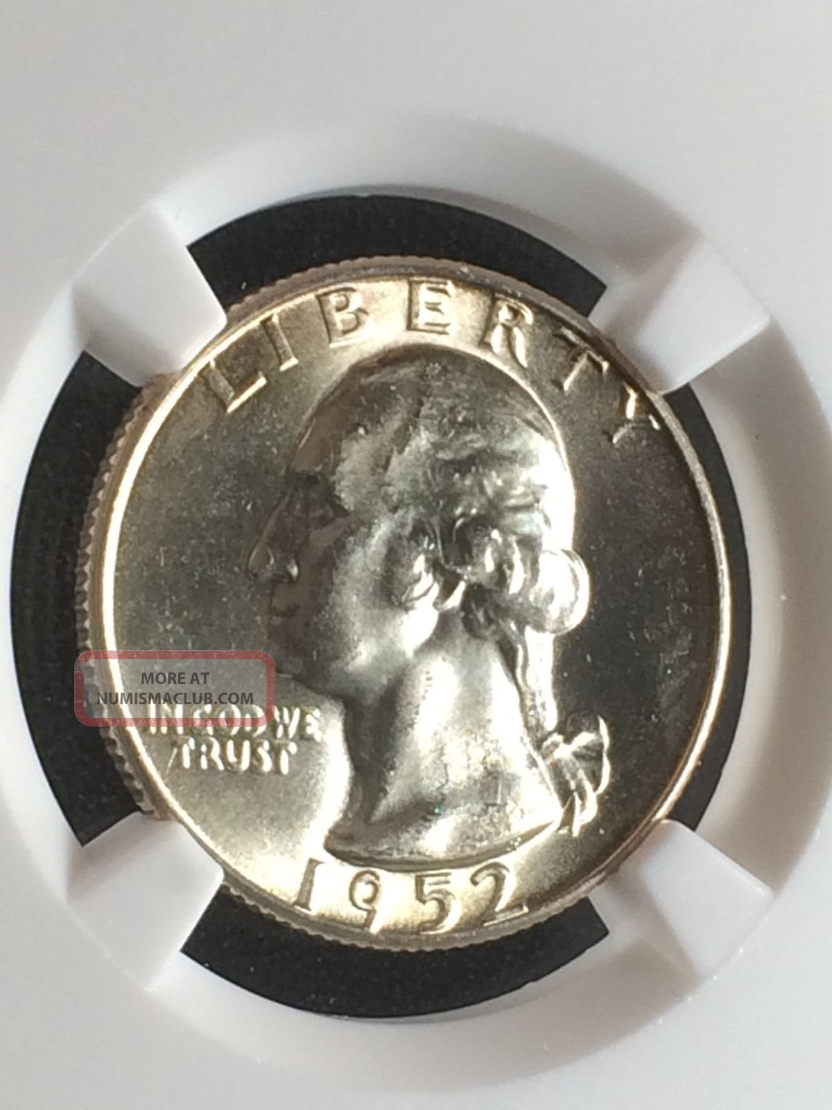 1969 S Proof Washington Quarter NGC PF69