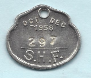 Sydney Australia Transportation Token Aus - 720 - Kq 297 Rare & Dated Pass photo