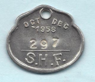 Sydney Australia Transportation Token Aus - 720 - Kq 297 Rare & Dated Pass photo