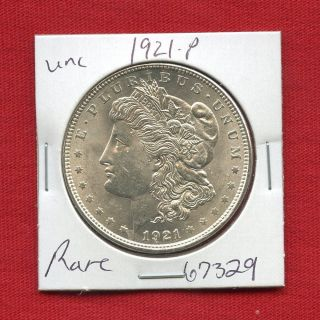 1921 Morgan Us Silver Dollar 67329 Brilliant Uncirculated Ms,  State Estate photo