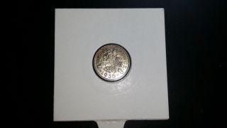 1936 United Kingdom Threepence Silver Coin photo