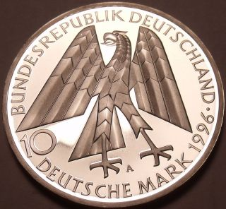 Large Germany Silver Proof 1996 - A 10 Marks 150th Anniv Of Kolpingwerk photo
