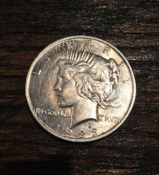 1923 - P Peace Silver Dollar photo