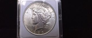 1923s Peace Silver Dollar Coin photo