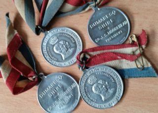 Australian Commemorative Medallions 1937 Coronation King George Vi & Elizabeth photo