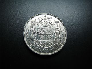 50 Cent 1948 Silver (a350) photo