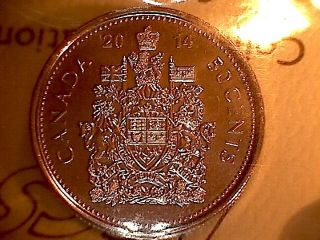 Iccs Graded Ms - 67 Canada Premium Quality Gem 2014 Fifty Cent Piece photo