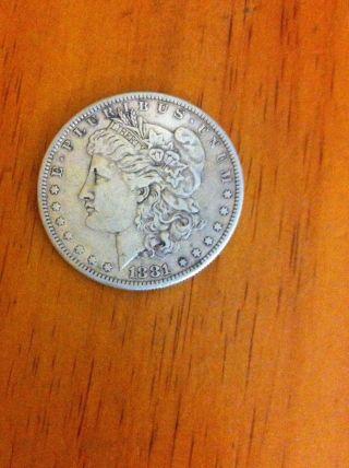 1881 - O $1 Morgan Silver Dollar photo