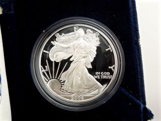 ✰ 2006 Proof American Silver Eagle,  | Us | Fine.  9999 Bullion Coin ✰ photo