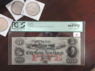 Obsolete Currency,  Pcgs Graded,  See Photos photo