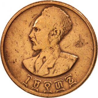 [ 98091] Ethiopia,  Haile Selassie I,  10 Cents,  Assir Santeem,  1944,  Km:34 photo