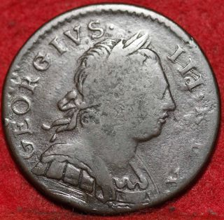 1774 George Iii Great Britain Penny Foreign Coin S/h photo