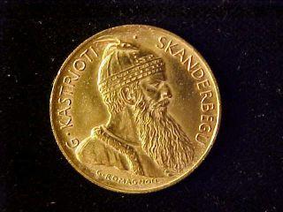 Albania Gold 20 Franga Ari 1927 Au photo