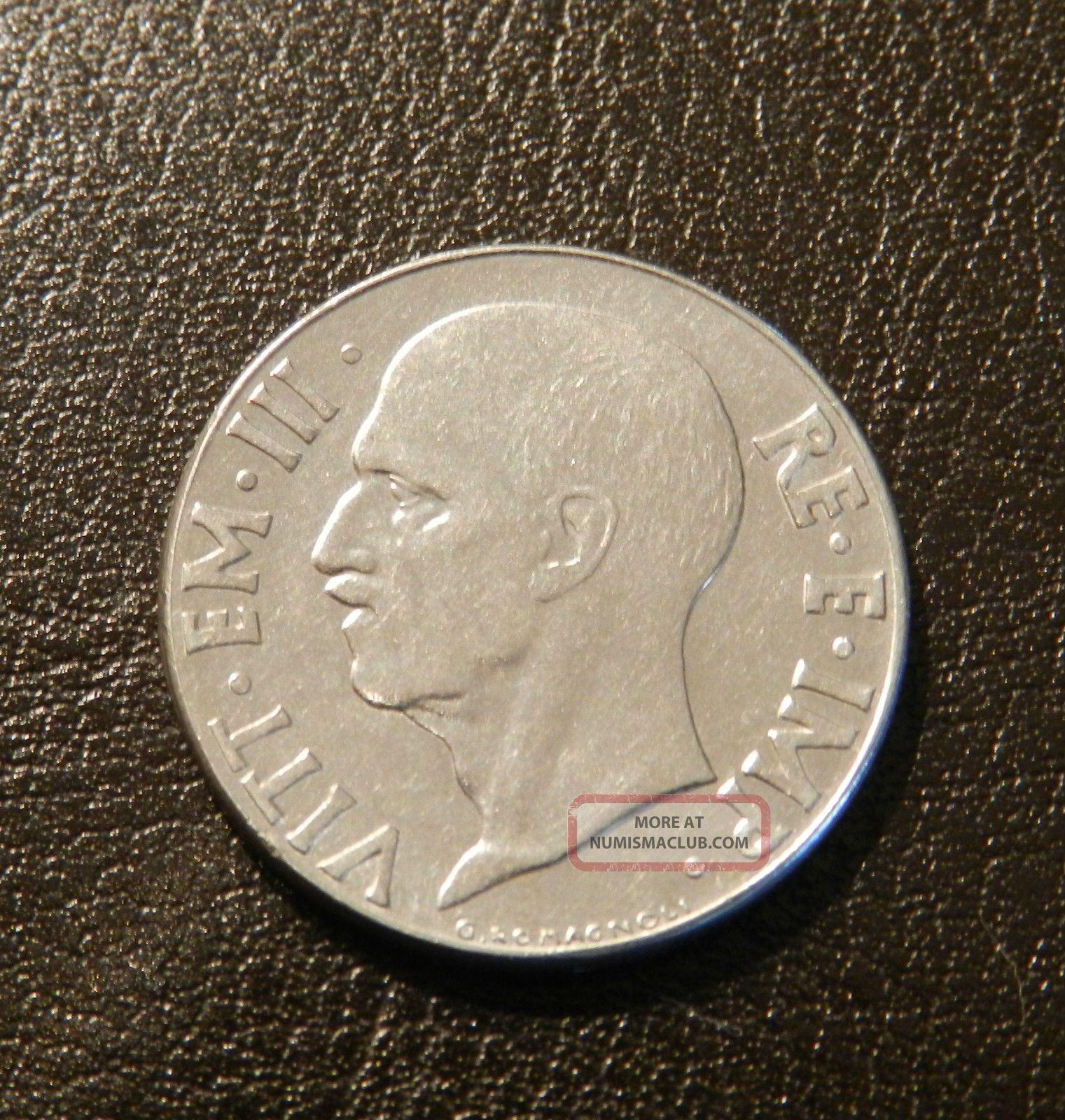 Italy 20 Centesimi,  1941 - Coin Italy (1861-Now) photo