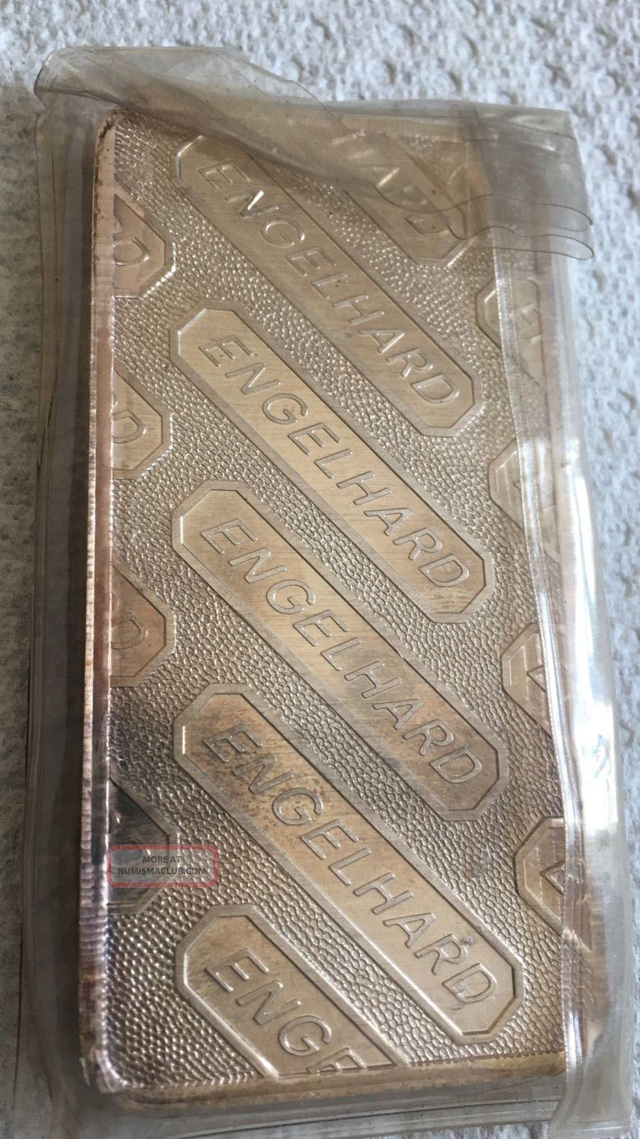 10 Oz Engelhard Silver Bar 10 Troy Ounces 999 Fine Silver