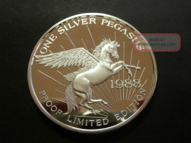 1988 Pegasus Gold Corp Relief Canyon Mine 999 1 Oz