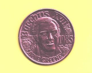 Lorne Greene Token 1985 Bacchus King Doubloon - Bonanza ' S Ben Cartwright Coin photo