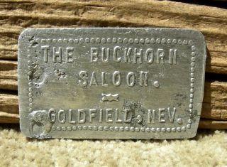 Ca 1908 Goldfield Nevada Nv (liv Ghost Town) Rare