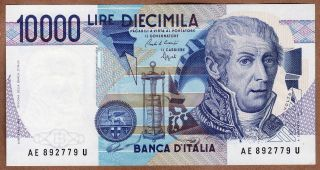 Italy - Banca D`italia - 10000 Lire - D.  1984 - P112b - About Uncirculated photo