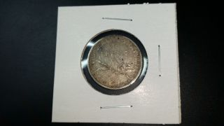1916 France One Franc Silver Coin photo