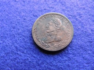 Rare Canada 1813 Wellington 1/2p Error Overstruck Decent Grade photo