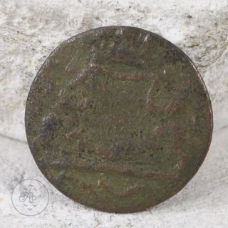 Copper - 1790 Voc Utrecht Us Colonial Era Half Duit (york Penny) 2.  5g - Coin photo