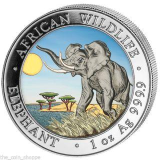 Somalia Silver Elephant