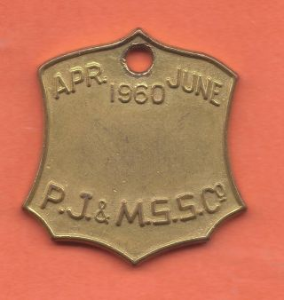 Manly Australia,  Paddlewheeler Steam Boat,  Transportation Token,  Aus - 480 - Mo 086 photo