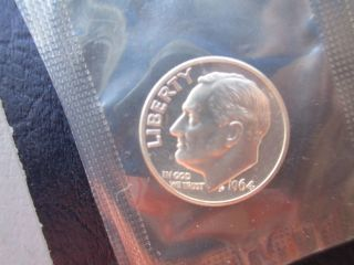 1964 - P Pointed Dime Gem Proof Still In Cello (great Deal) photo