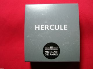 Silver Proof Hercules From The Monnaie De Paris Gorgeous With Sleeve,  Box photo