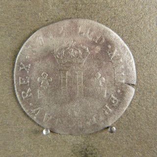 French Colonial - 30 Deniers Louis Xiv 1712 D Mousquetaire photo